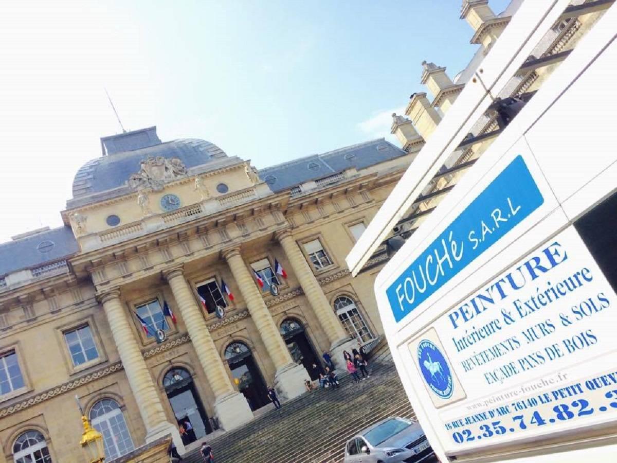 Devis peintre en bâtiment vers Rouen - Peinture Fouché
